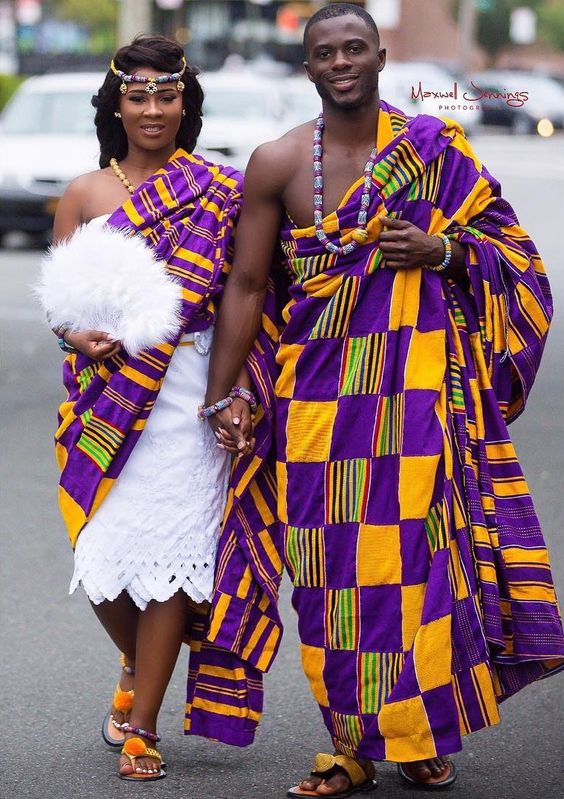Royal Ghanaian Kente