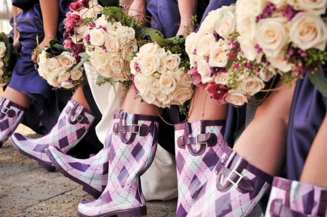 eventsbymackie-com-wedding-party-in-rain-boots